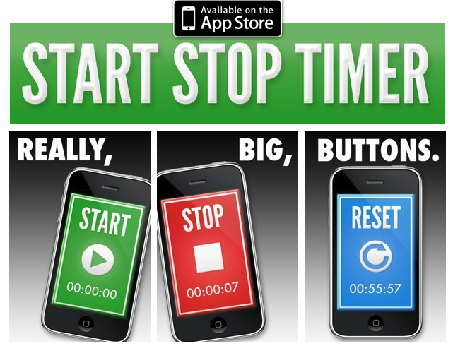 Monitor Your Goals with the Start/Stop Stopwatch App